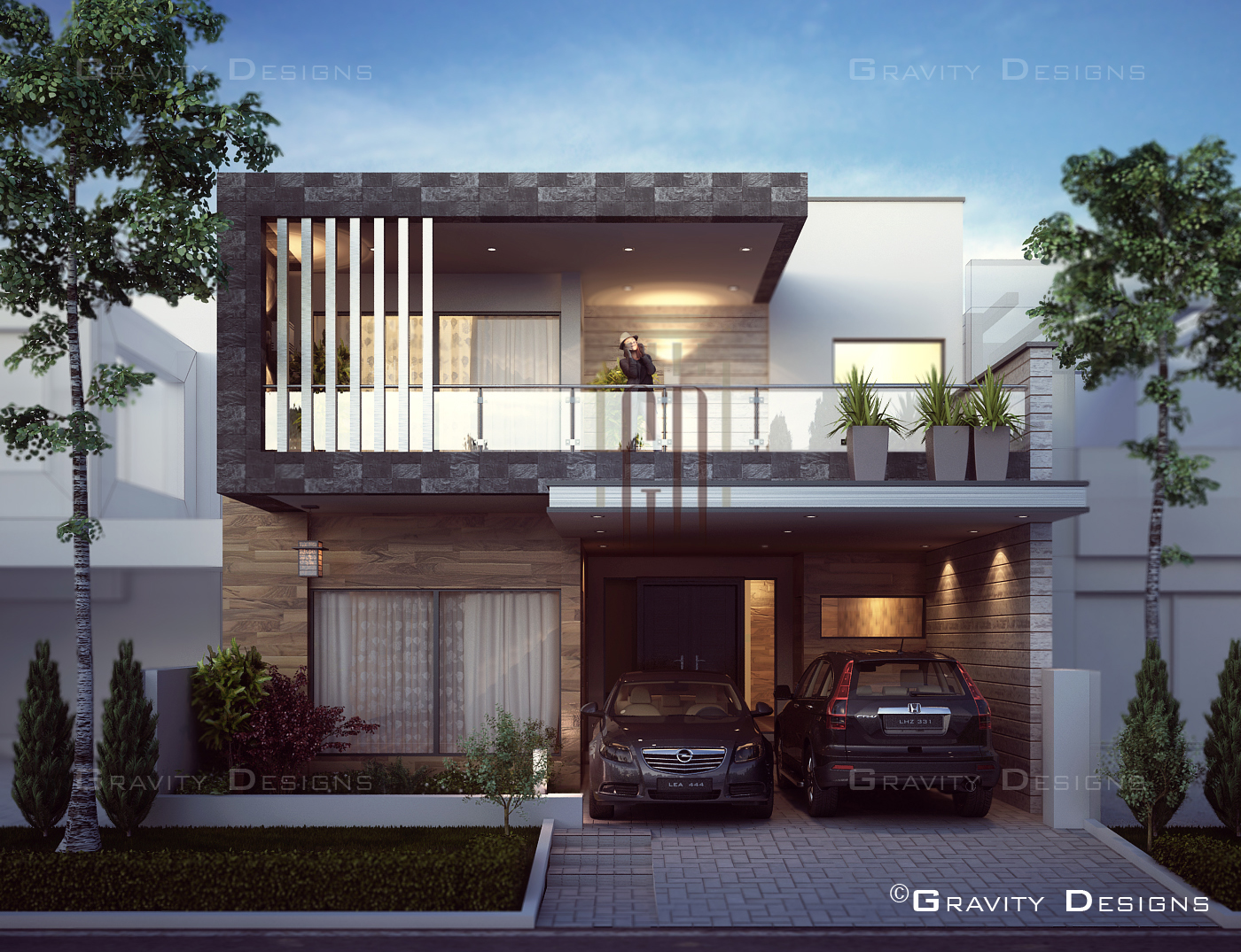 Residential exterior designs gravity design for Residential design