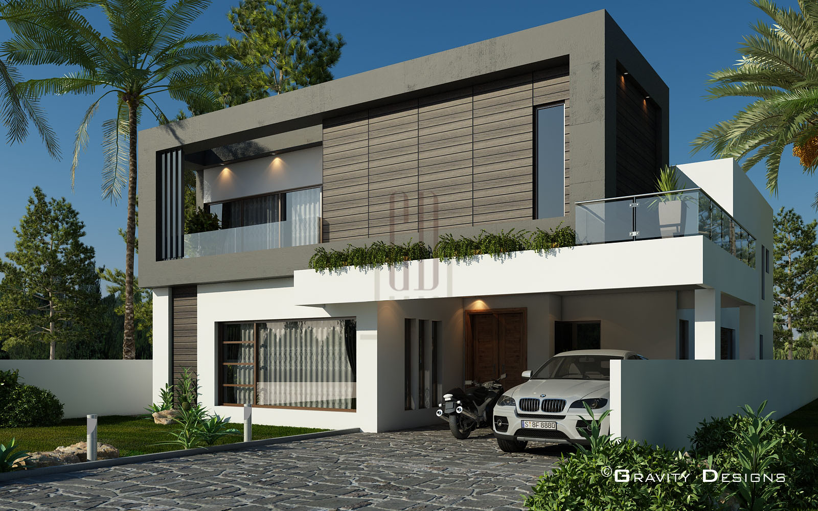 residential exterior designs gravity design