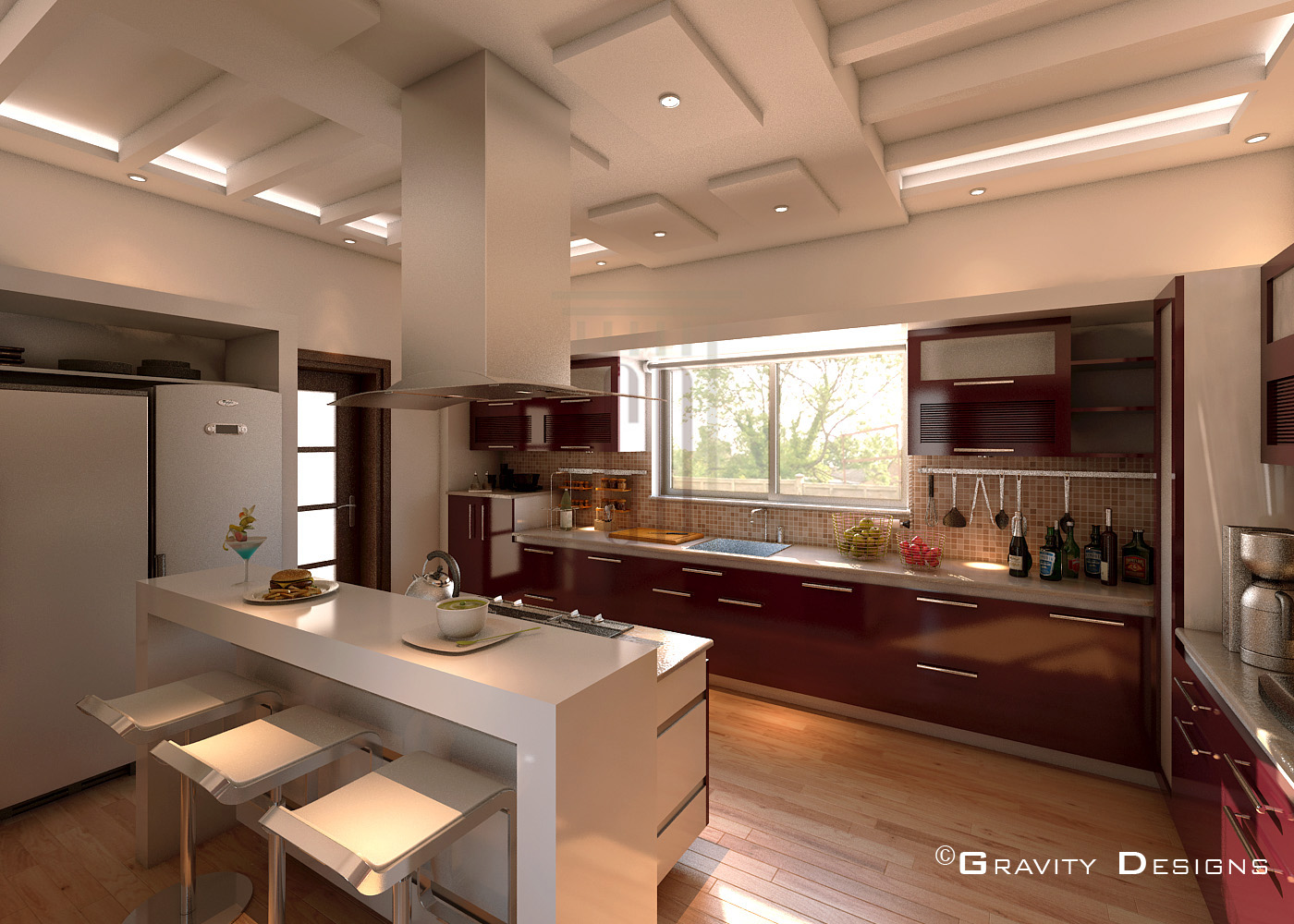 Residential interior designs gravity design for Residential decorating